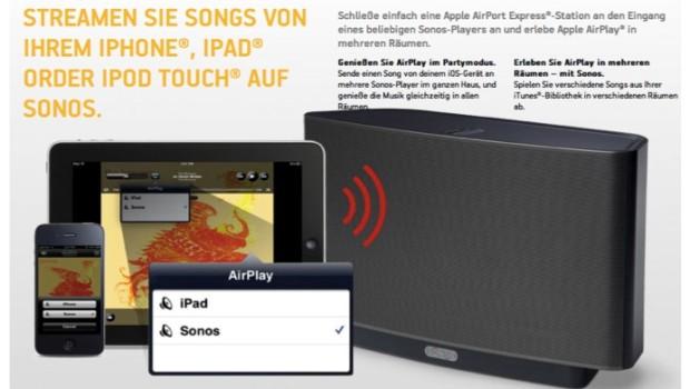 Sonos Werbung
